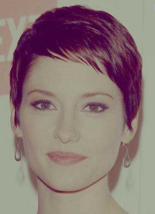 Super Short Layered Pixie Haircuts