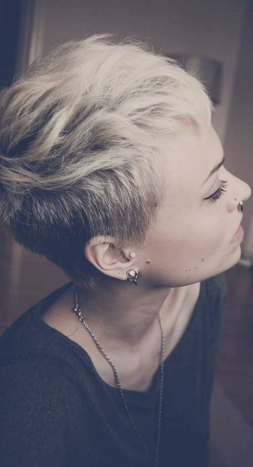Super Short Pixie Cuts for Girls