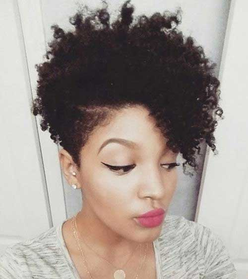 Tapered Hair Short Cut Styles