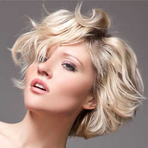 Thick Wavy Blonde Bob Ideas