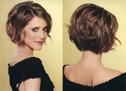 Thick Wavy Curly Bob Hair Ideas