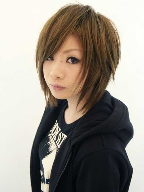 asian girl hair cut