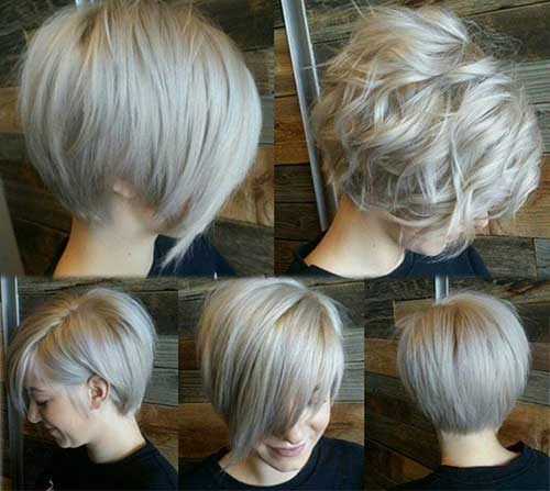 Trendy Short Layered Wavy Hair Styles