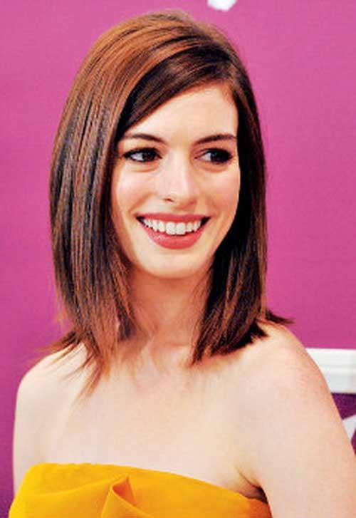 Trendy Short to Medium Straight Hairstyles