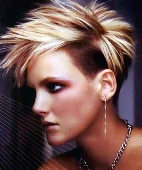 Undercut Pixie Hair