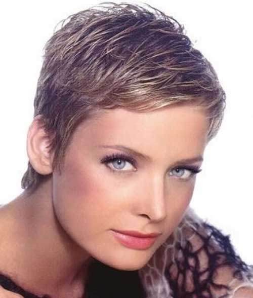 Very Short Pixie Cuts Women