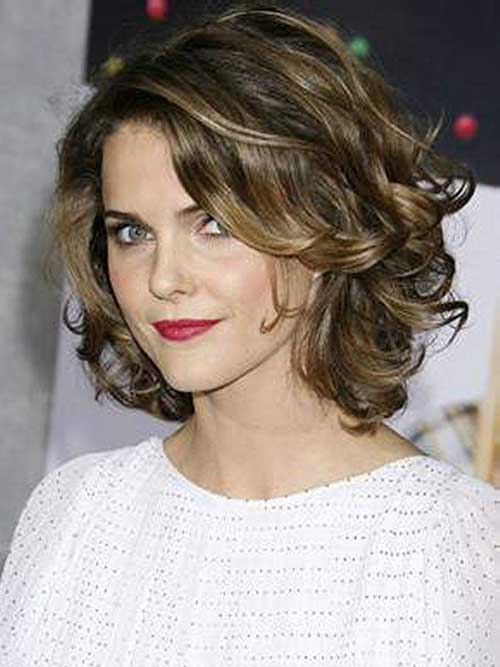 Wavy Curly Long Bob Haircuts