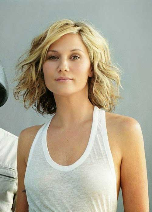 Wavy Curly Short Hairstyles 2015
