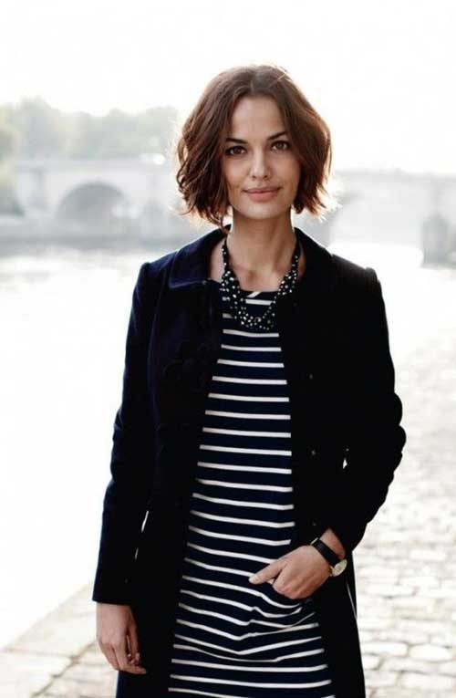 Wavy French Bob Hairstyles