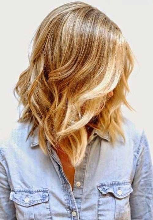 Wavy Long Bob Haircuts