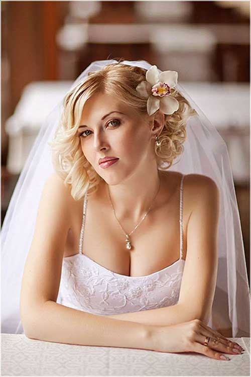 Wedding Elegant Short Hairstyles