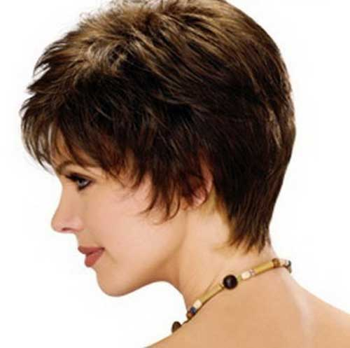 Women Hair Short Cut Back