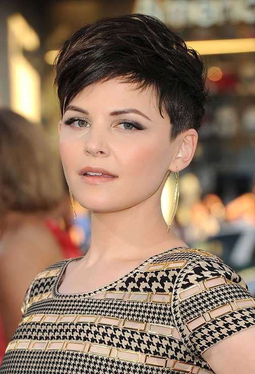Womens Dark Pixie Cuts