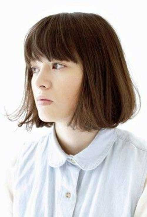 Nice Short Hair Cuts with Bangs