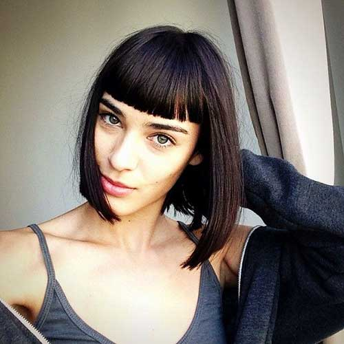 Short Hair Cuts with Bangs-12