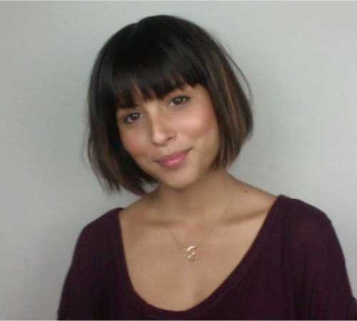 Short Hair Cuts with Bangs-13