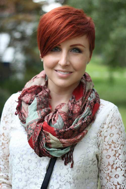 Cute Short Hairstyles for Girls-14