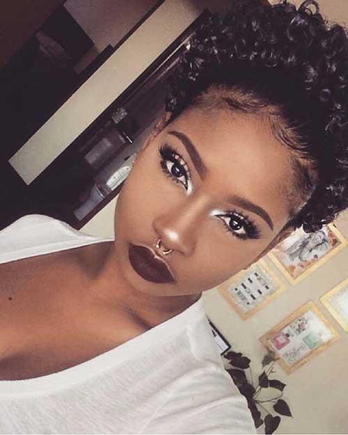 20 Black Girls with Short Hair | Short Hairstyles