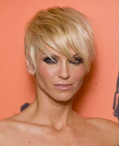 2016 Celebrity Short Hair Pics
