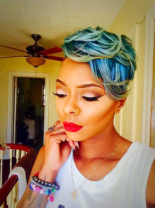 Black Girls with Short Hair-17
