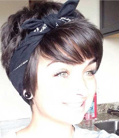 Cute Short Hairstyles for Girls-7