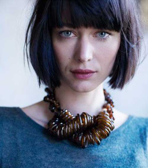 Short Hair Cuts with Bangs-7