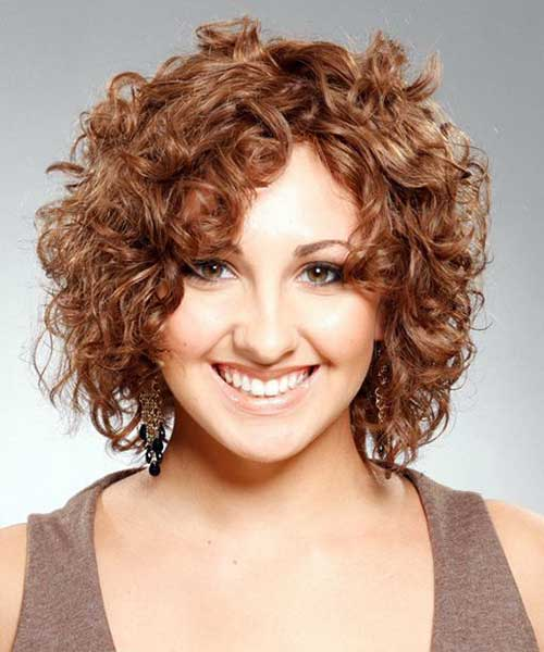 Short Haircuts for Curly Frizzy Hair-7