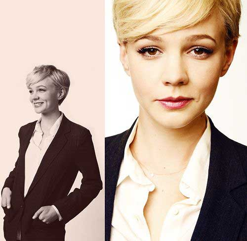 Cute Short Hairstyles for Girls-9