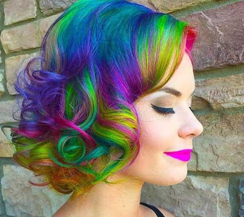 short-hair-different-colors
