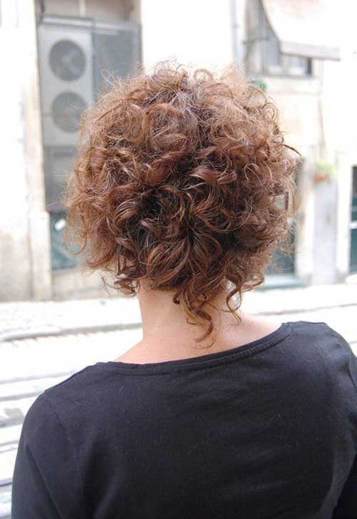 Short Hairstyles for Frizzy Curly Hair