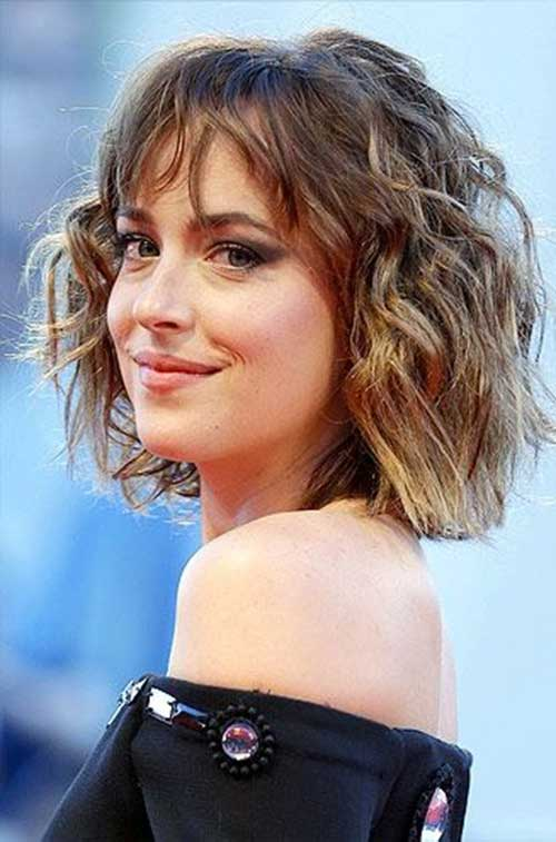 Short Wavy Hair Ideas For Ladies Short Hairstyles