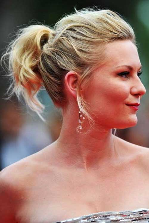 Ponytail Styles for Short Hair-10