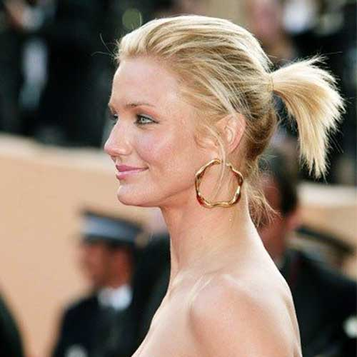 Ponytail Styles for Short Hair-11