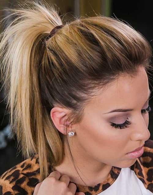 Strange Easy Ponytail Styles For Short Hair You Will Love Short Short Hairstyles For Black Women Fulllsitofus