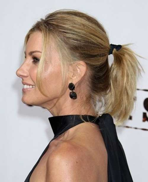 Ponytail Styles for Short Hair-14
