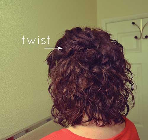 Curly Short Hair-15
