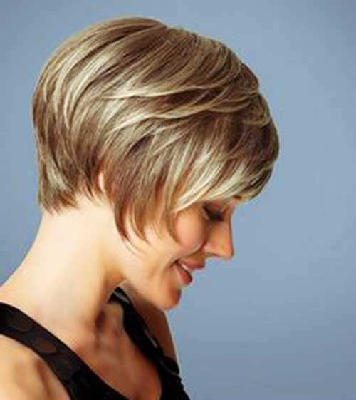 Blonde Layered Haircut Styles
