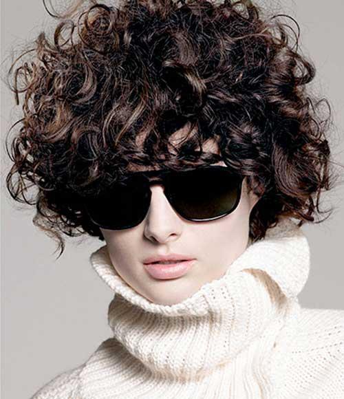 Curly Short Hair-20