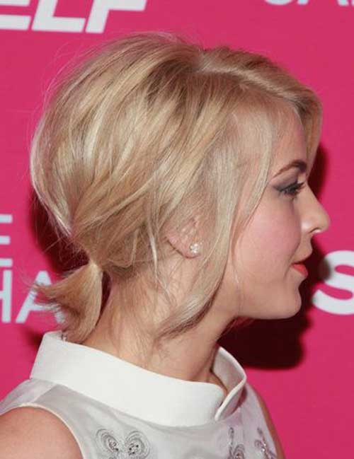 Ponytail Styles for Short Hair-7
