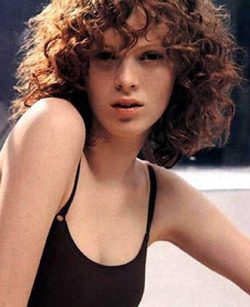 Curly Short Hair-8
