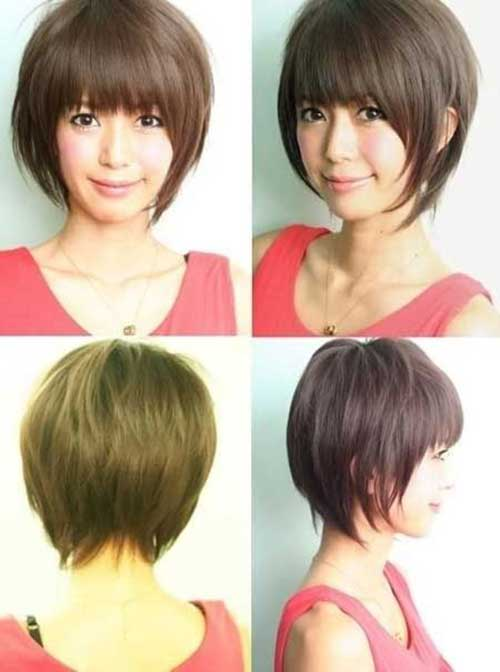 Asian Cute Easy Short Hairstyles