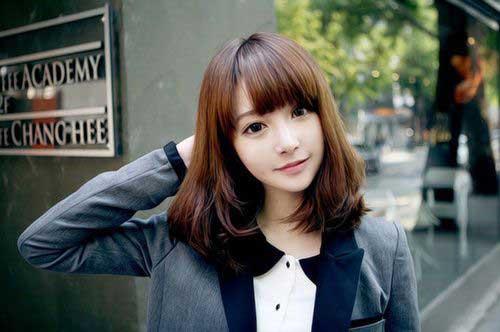 Asian Short Medium Haircuts