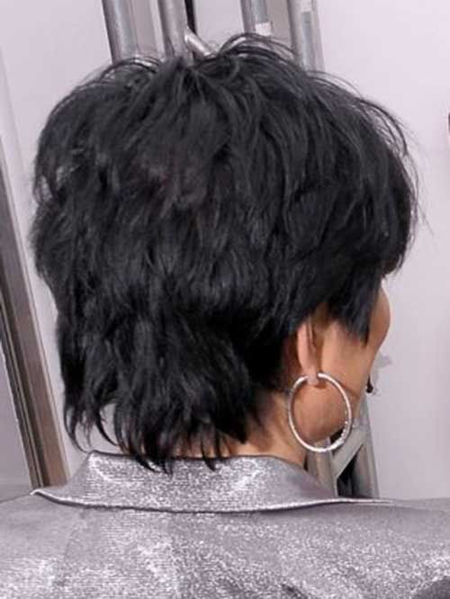 Back View Layered Hairstyles For Short Hair Over 50