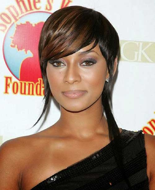 Black Hair Short Hairstyles for Round Faces Black Women