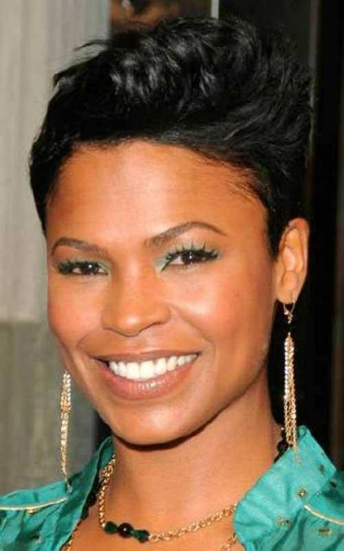 Excellent 10 Short Mohawk Hairstyles For Black Women Short Hairstyles Short Hairstyles For Black Women Fulllsitofus