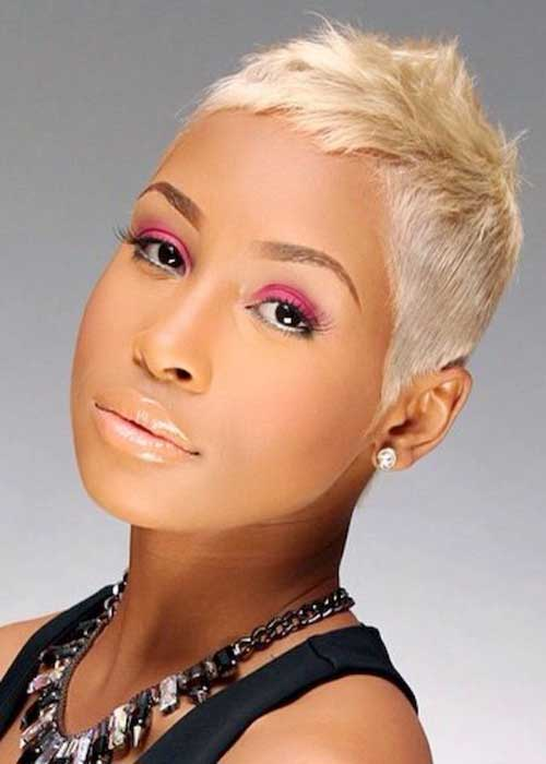 Magnificent 15 Short Blonde Hairstyles For Black Women Short Hairstyles Hairstyles For Women Draintrainus