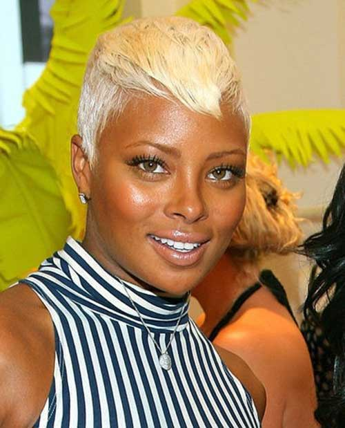 Black Women with Blonde Pixie Hairstyles