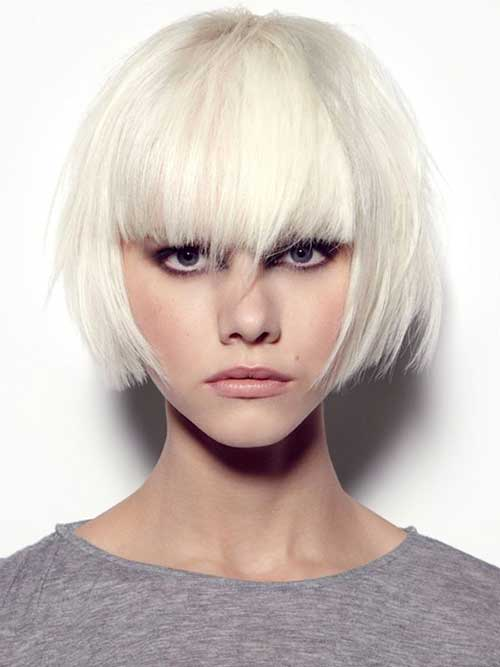 Best Blonde Bob with Bangs