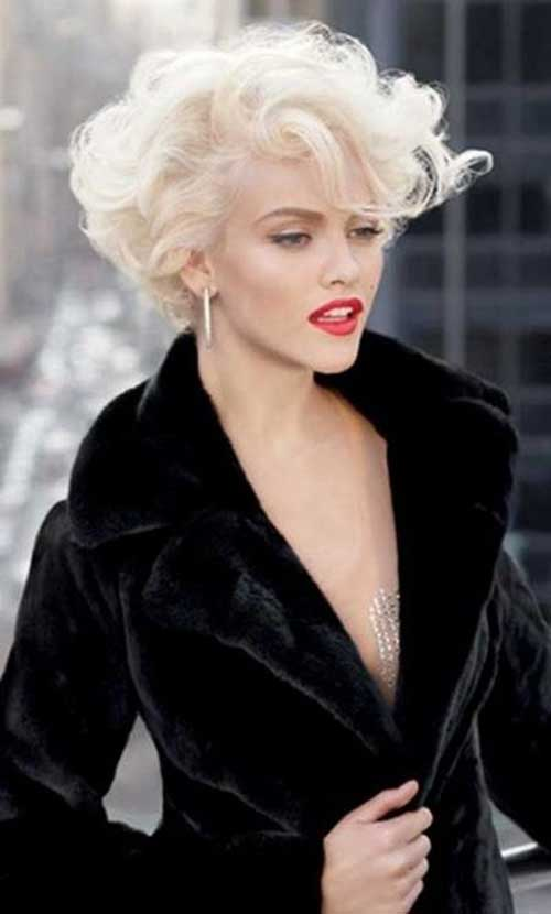 Blonde Curly Bob Hairstyles 2015
