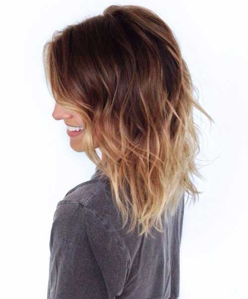 Blonde Ombre Medium Bob